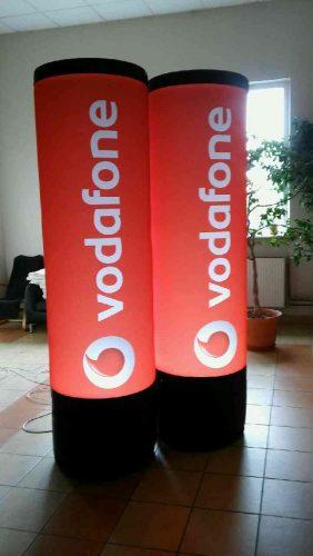 Vodafone advertising column