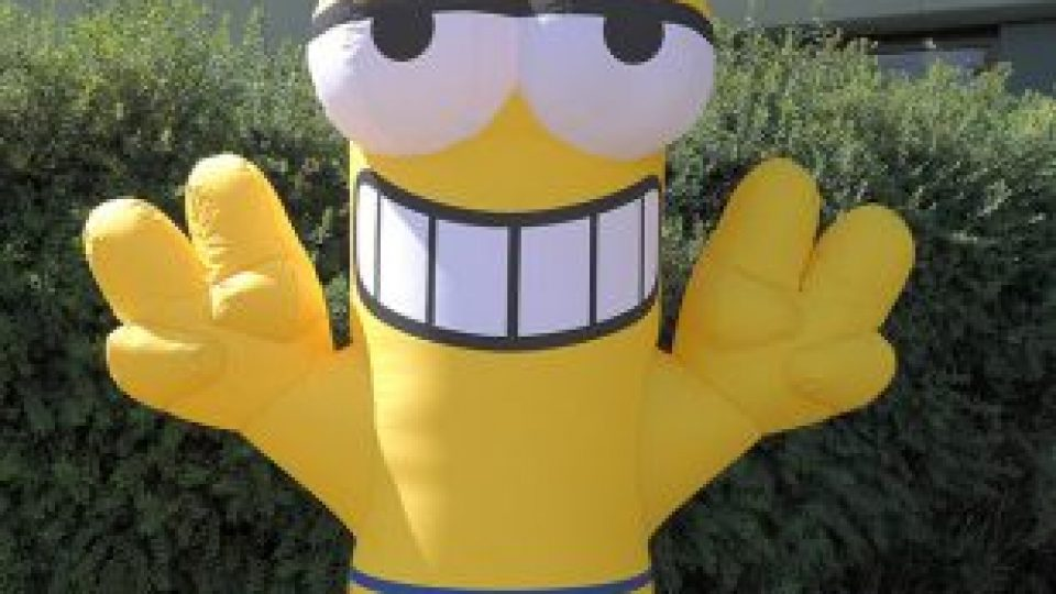 inflatable figure