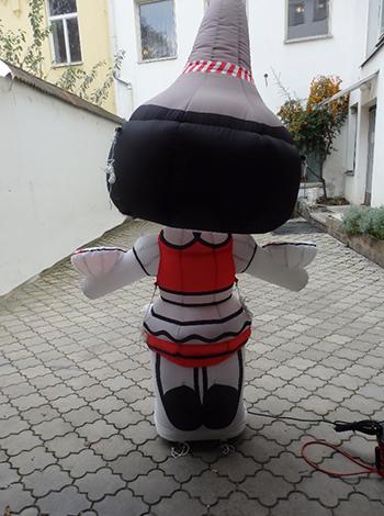 Inflatable figure Heidi-Tama-Goshi