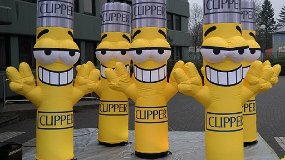 inflatable figure clipperman