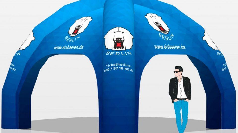 Eisbären-Berlin-inflatable-spider-tent-visual