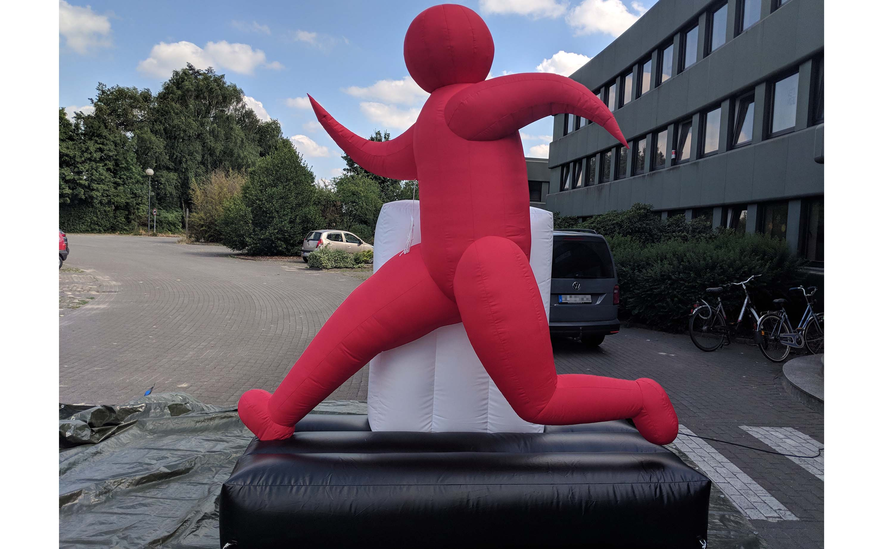 inflatable man