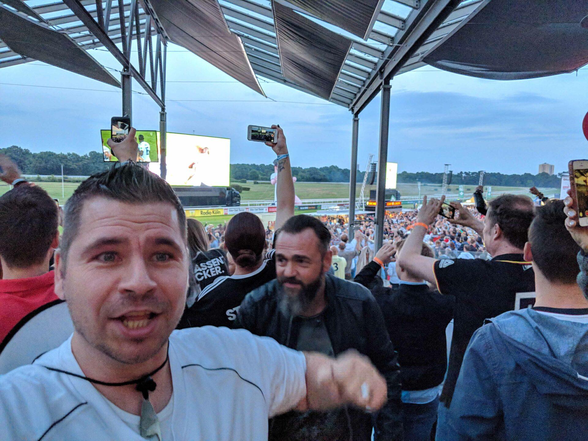 Aufblasbarer Lukas Podolski 10m