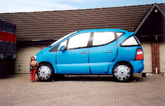 Aufblasbares Auto