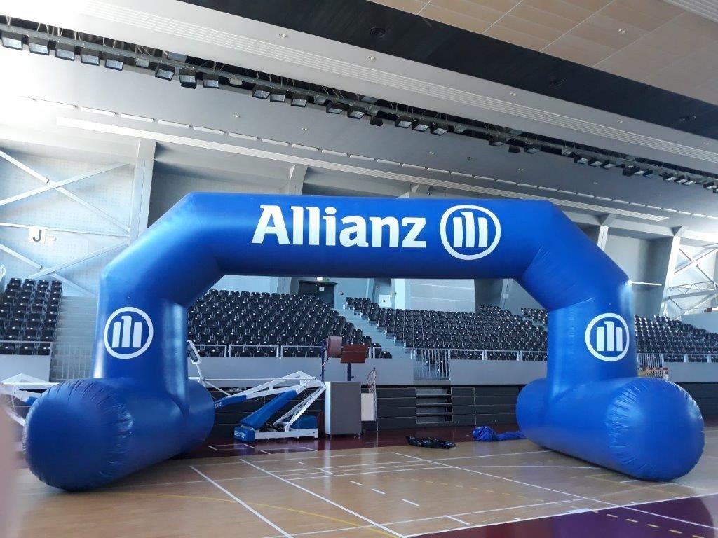 Allianz-Torbogen
