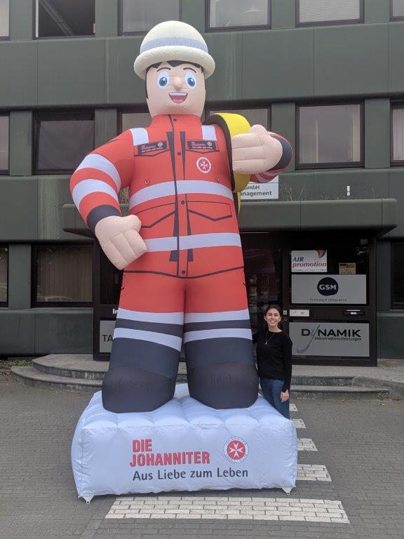 Aufblasbare Figur 4 Meter