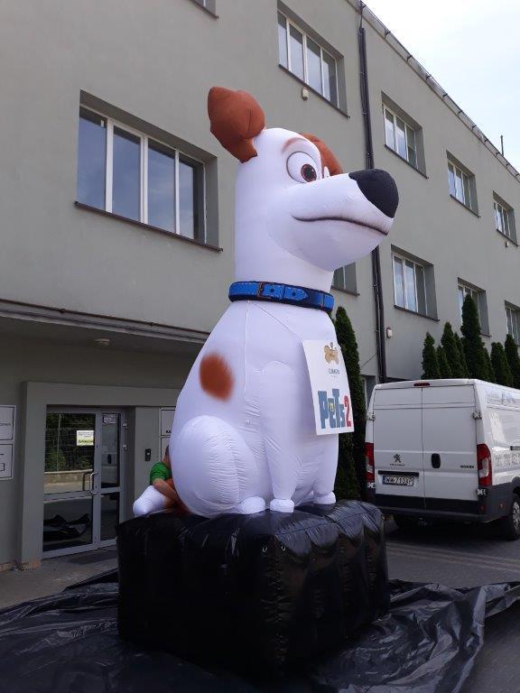 Aufblasbarer Hund Pets 2