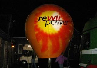 Aufblasbarer Ballon mit individuelle Werbung