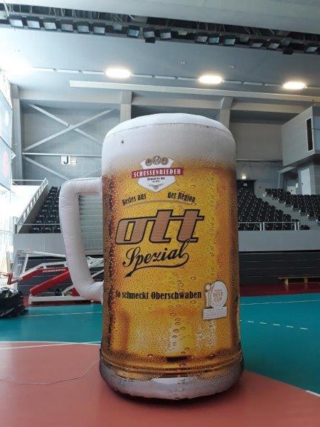 Bierkrug aufblasbar