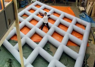 illustration of inflatable design object