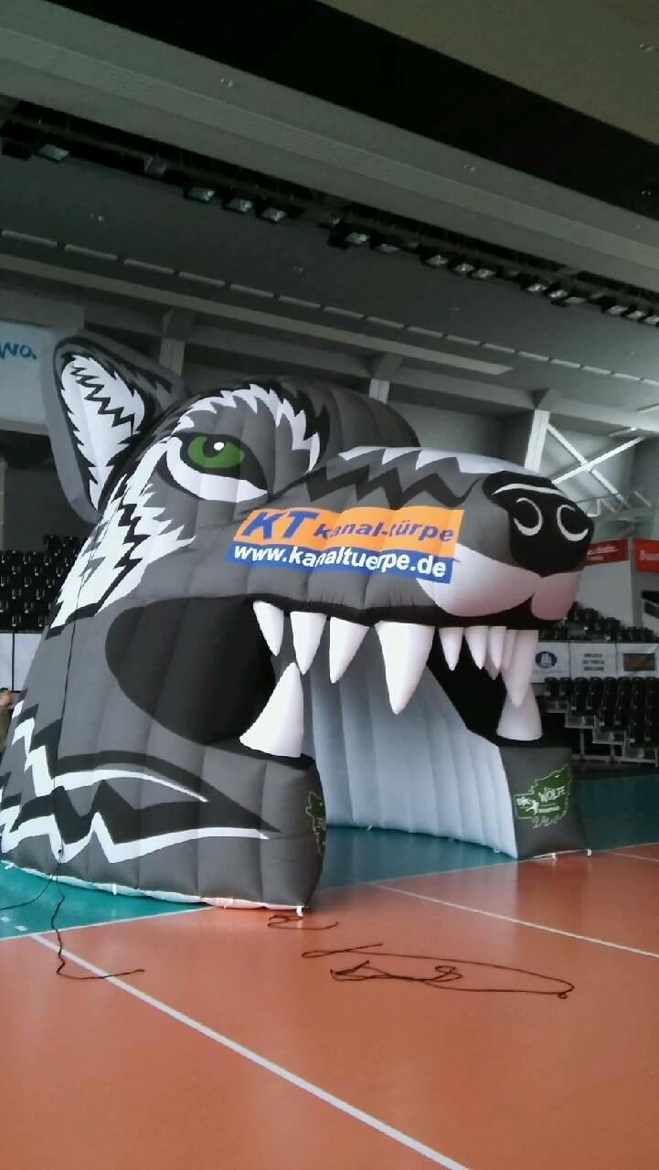 Einlauftunnel Wolf