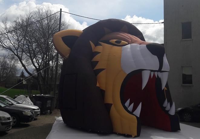 Einlauftunnel Lion nach rechts