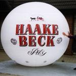 Aufblasbare Haake Beck Kugel
