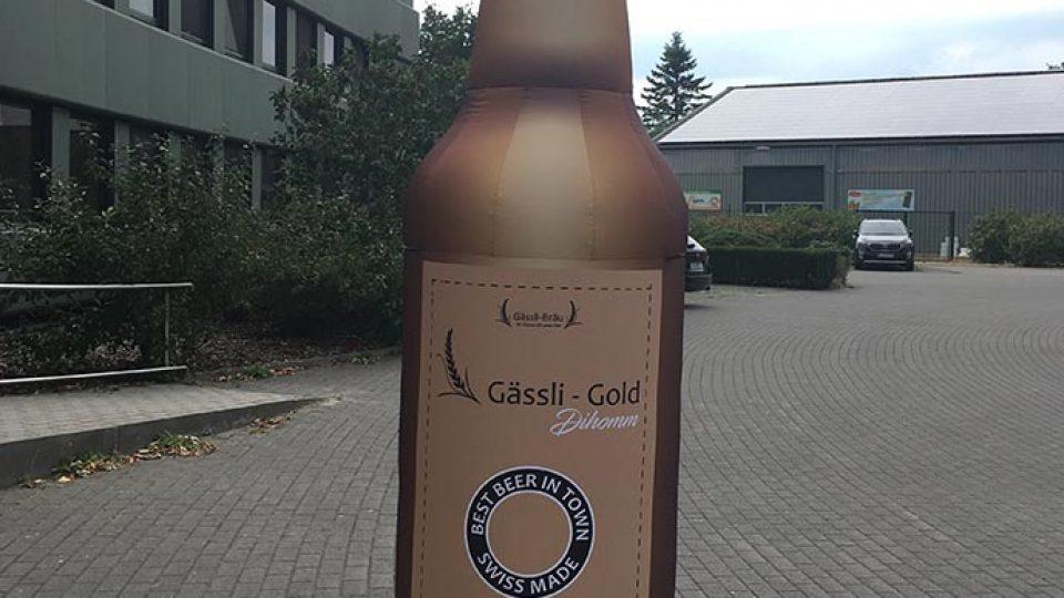 aufblasbare Bierflasche 2,50 m