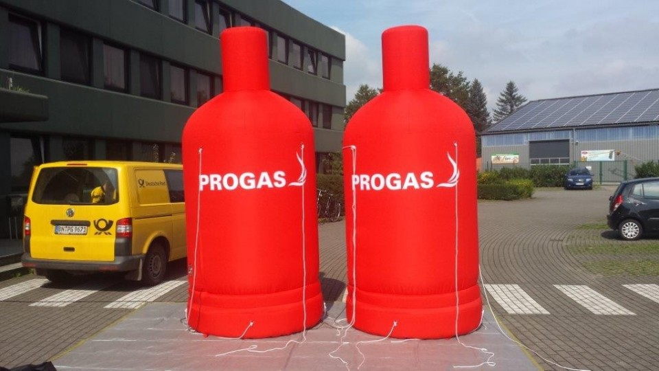 Inflatable Gas-Bottle