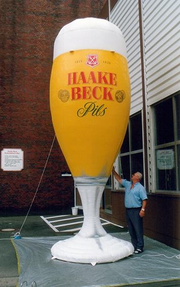 Haake Beck Glas