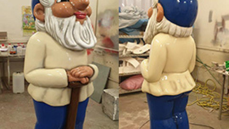 GFK Figur Heinzelmann