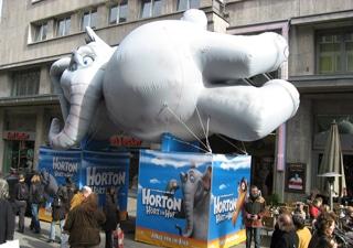 Aufblasbare Kinofigur Horton hört ein Hu!