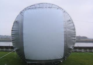 Inflatable Standardwerbung von innen beleuchtet für Riesenposter