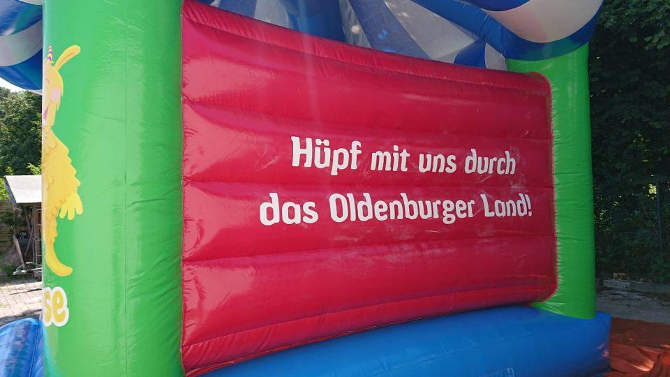 Hüpfburg Karoussel