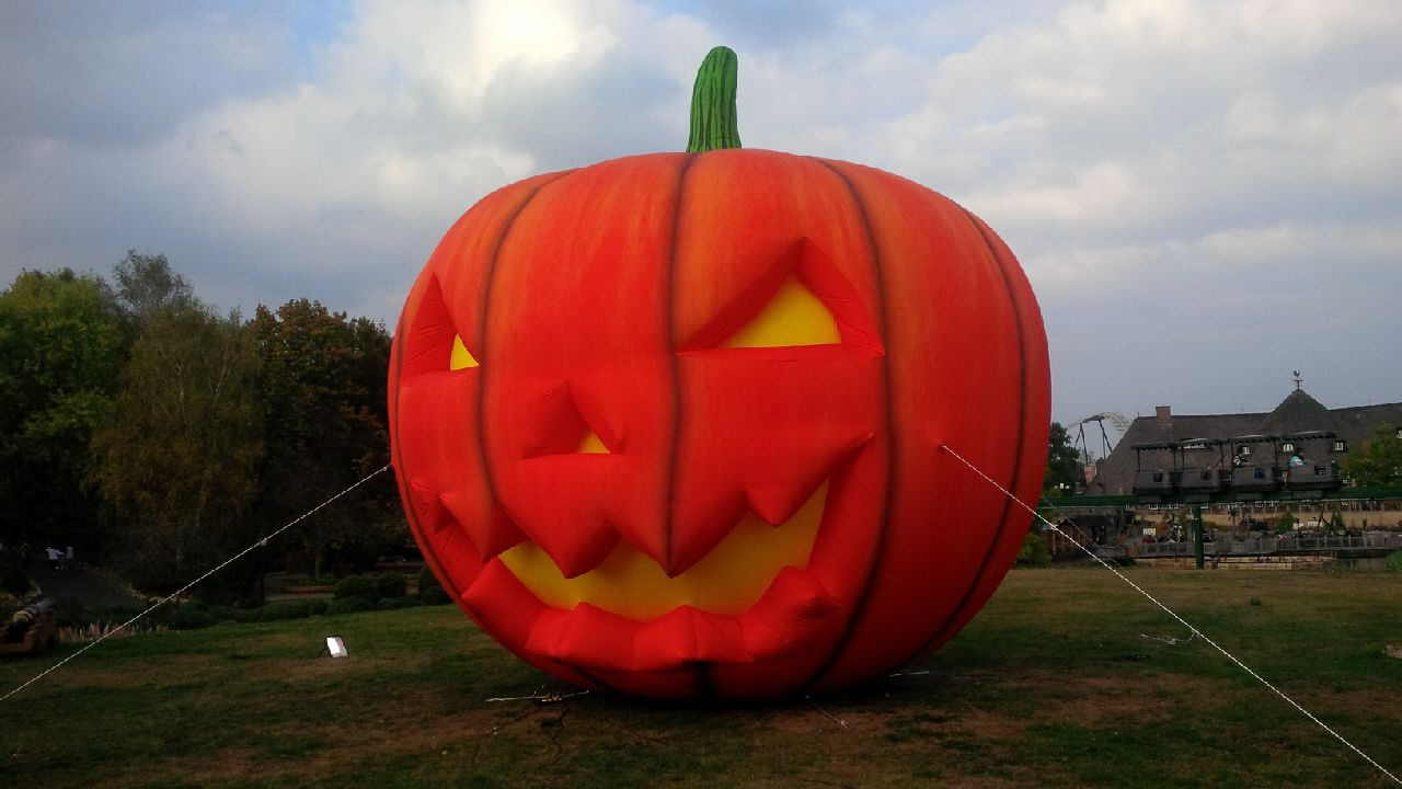 Inflatable big Halloween Pumpkin