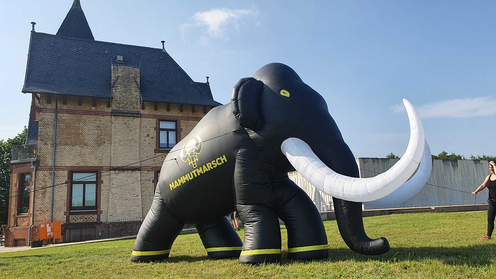 aufblasbares Mammut