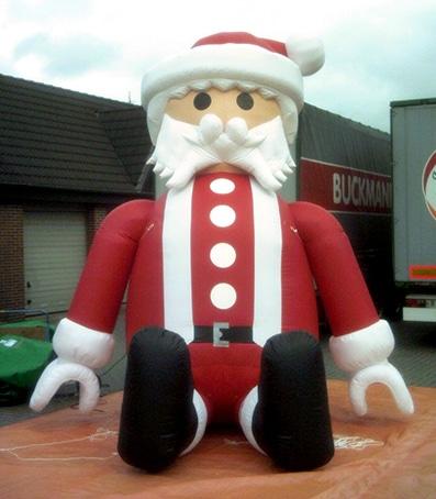 Aufblasbare Playmobil Figuren Weihnachtsmann