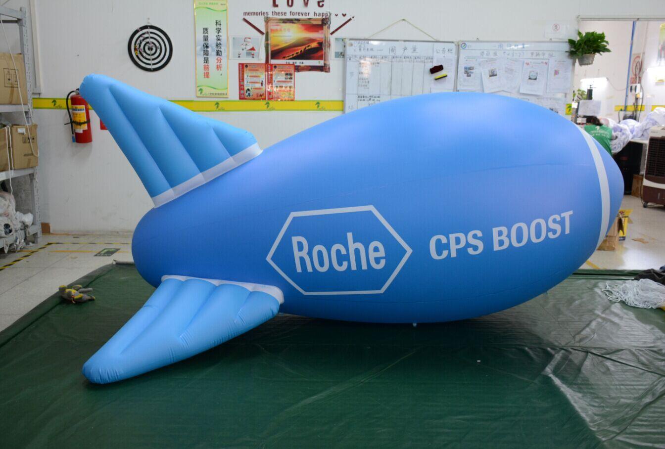 aufblasbare Rakete 3m