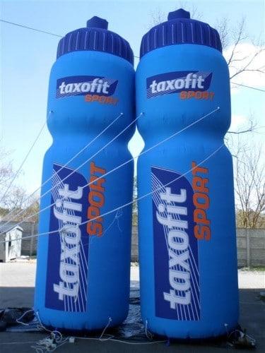 Aufblasbare Taxofit Flaschen
