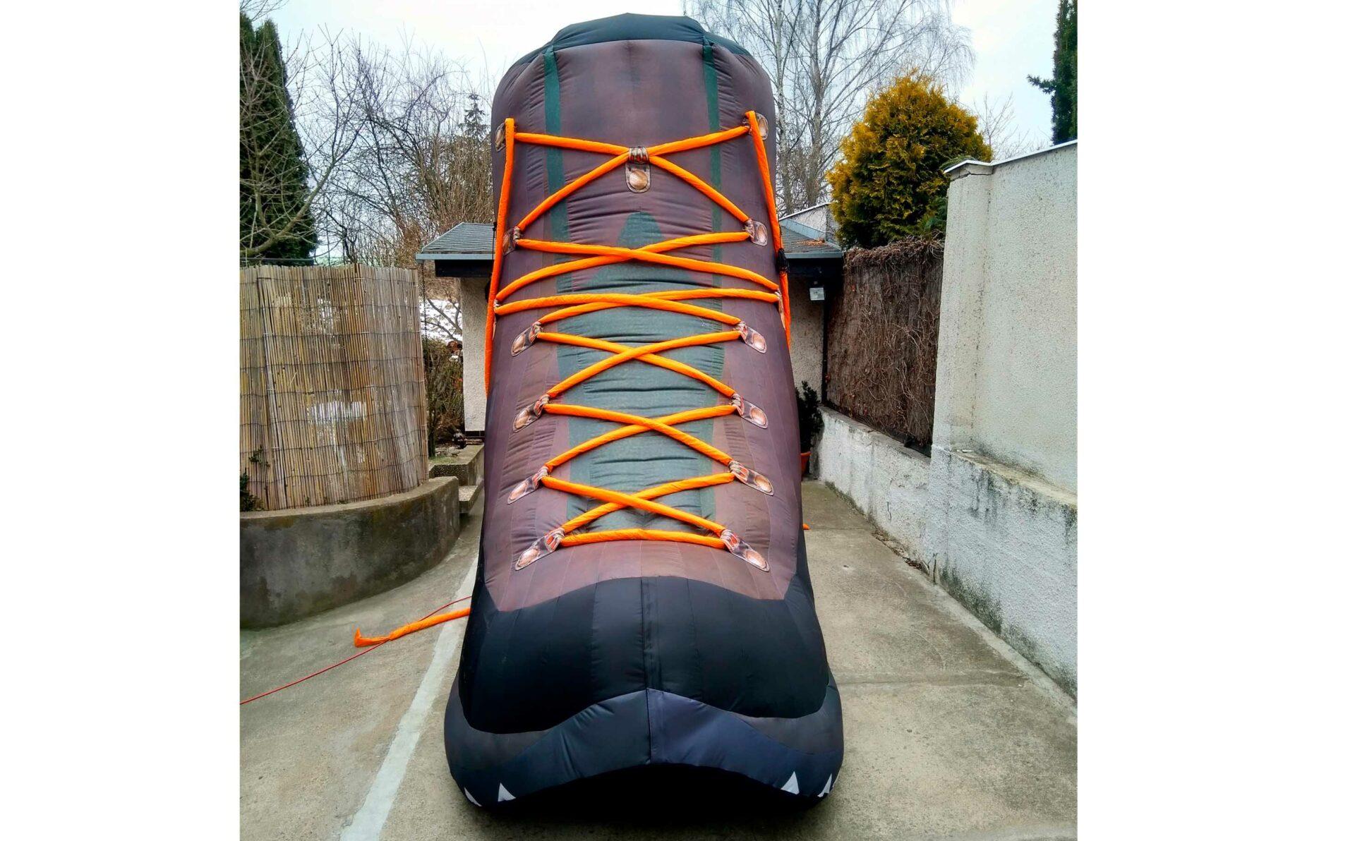 Aufblasbarer Riesen-Schuh
