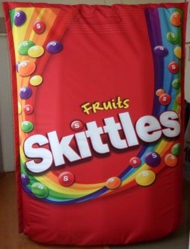 aufblasbare Skittles