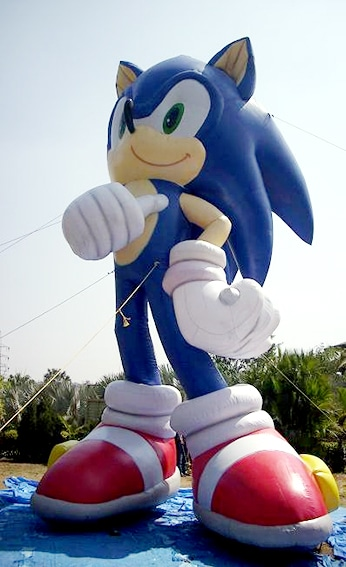 XXL Sonic filled with air