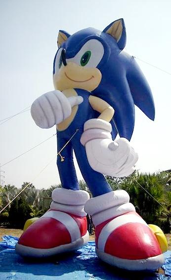 XXL Sonic mit Luft gefüllt