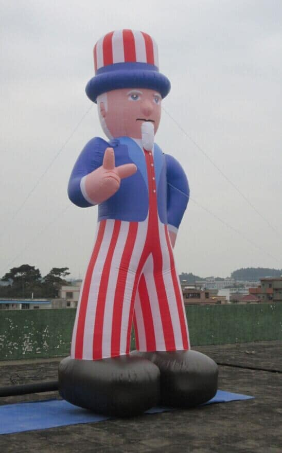 Inflatable Uncle Sam 5m