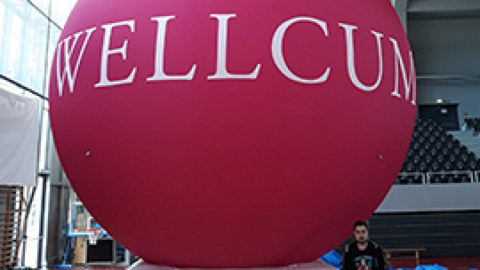 Aufblasbarer Riesenball 5m