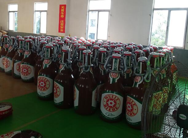 Wulle-Bierflasche