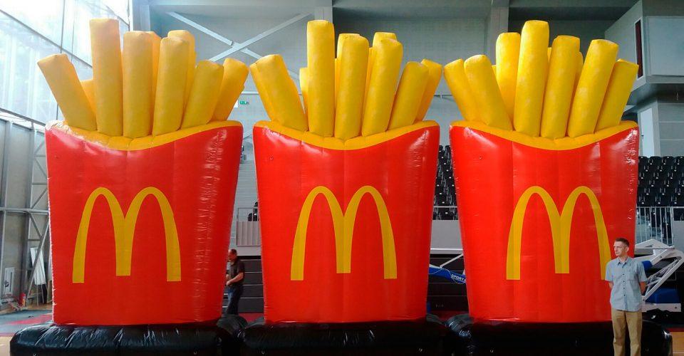McDonald's Dachwerbung