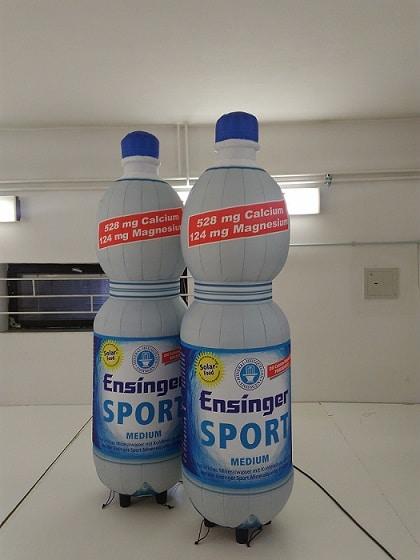 aufblasbare-Wasserflasche