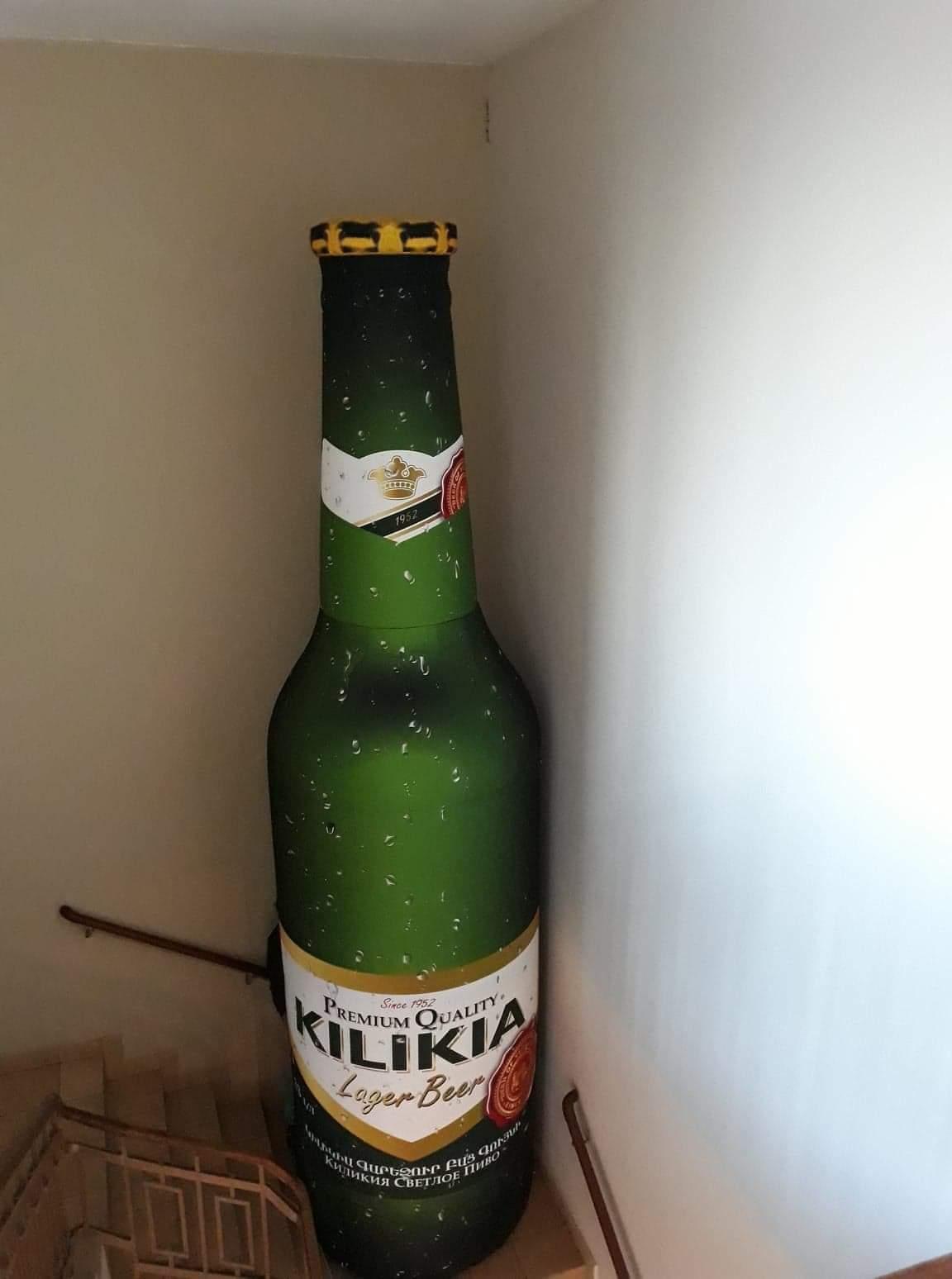 aufblasbare Bierflasche 5m