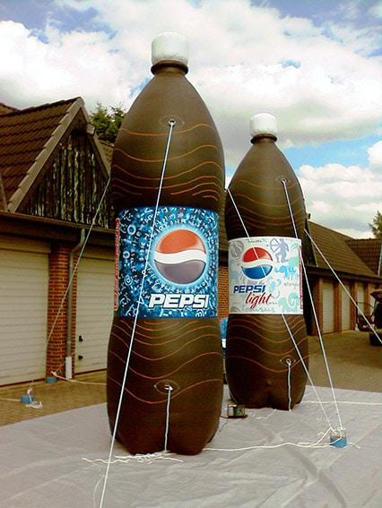 Pepsi Flaschen