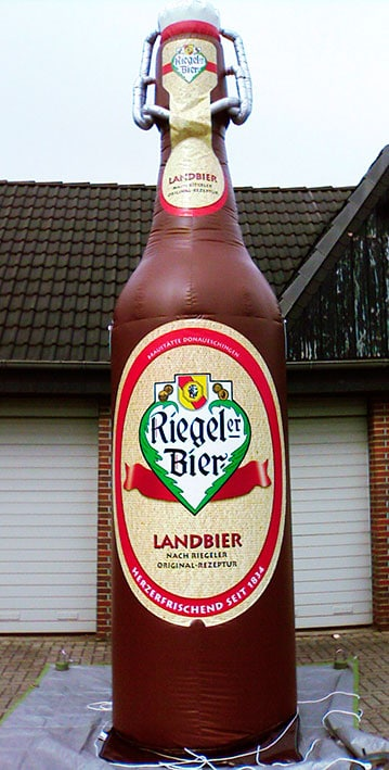 Riegeler Beer bottle