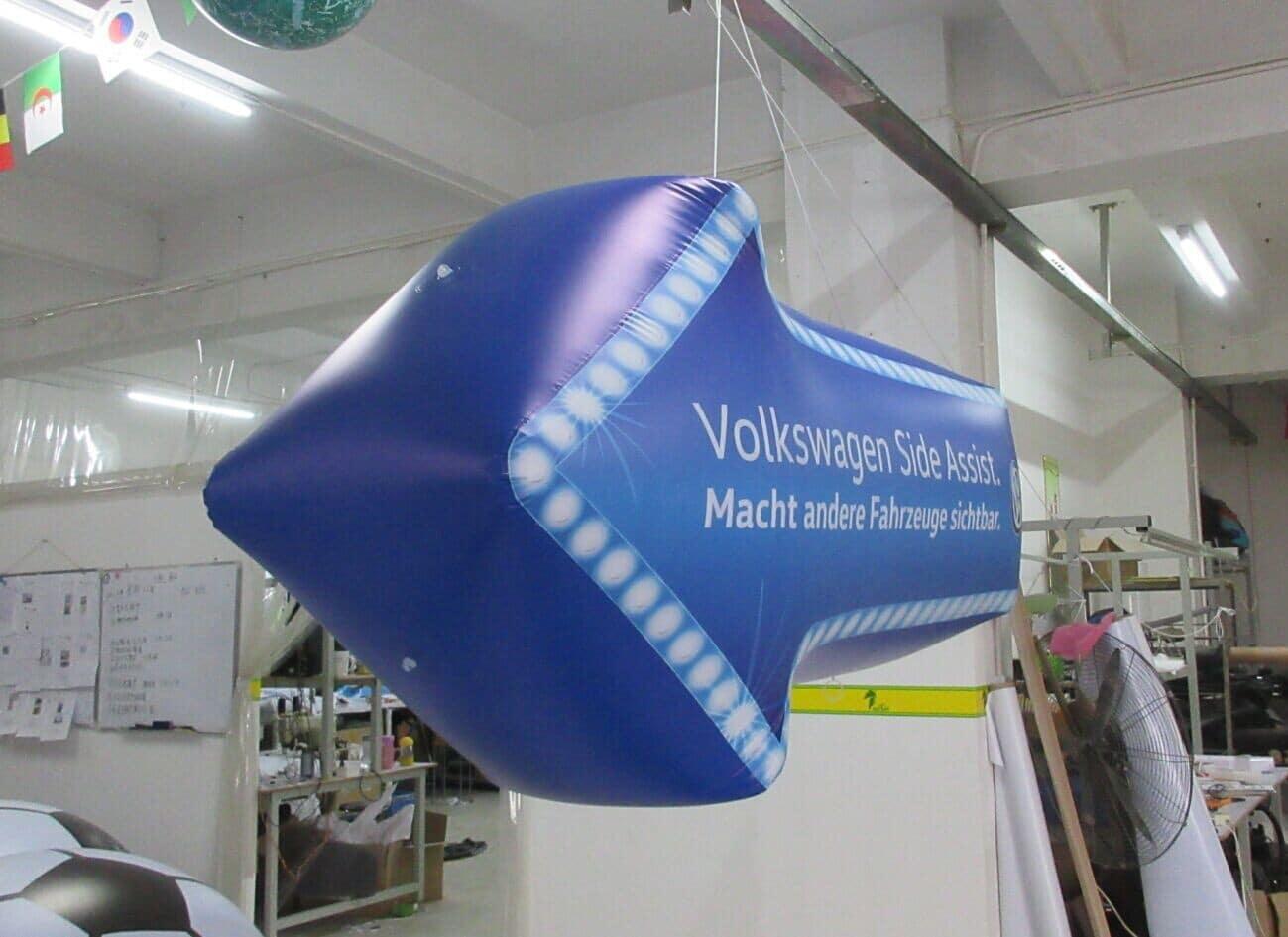 inflatable arrow