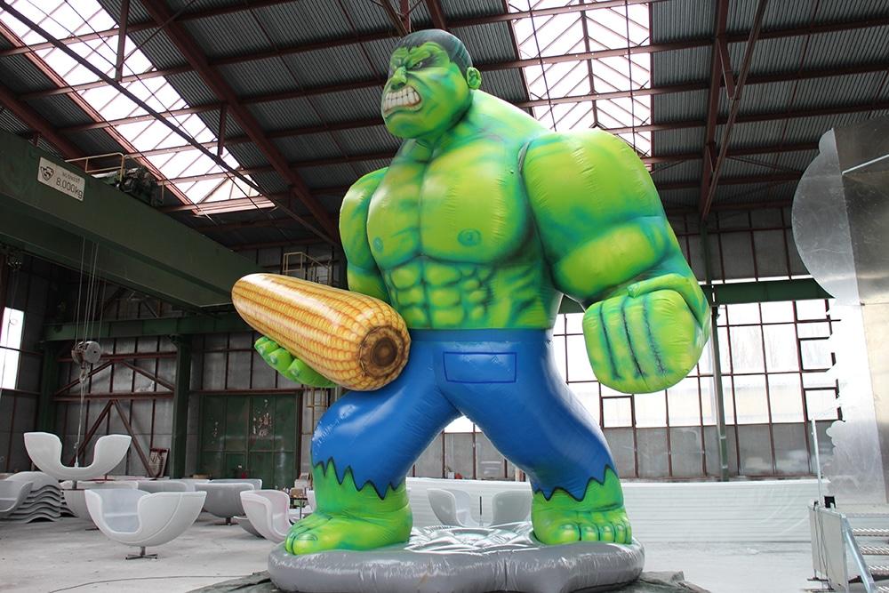Aufblasbarer Hulk