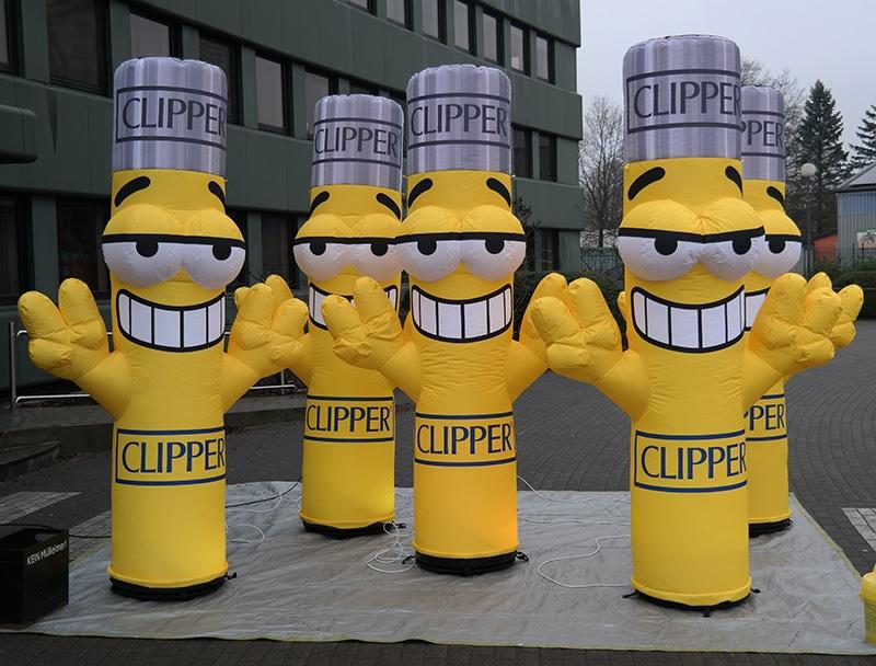Aufblasbare Figur Clipperman