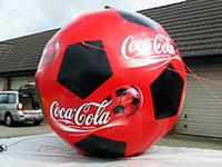 Aufblasbarer Riesen Coca Cola Ball