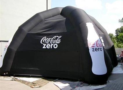 Coca Cola Zero Zelt
