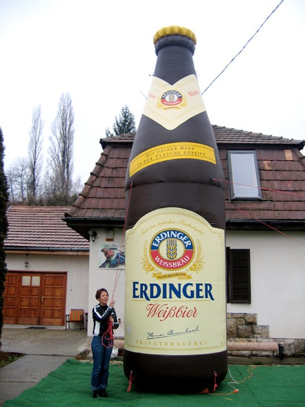 Erdinger bottle
