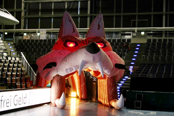 Einlaufbogen Fuchs