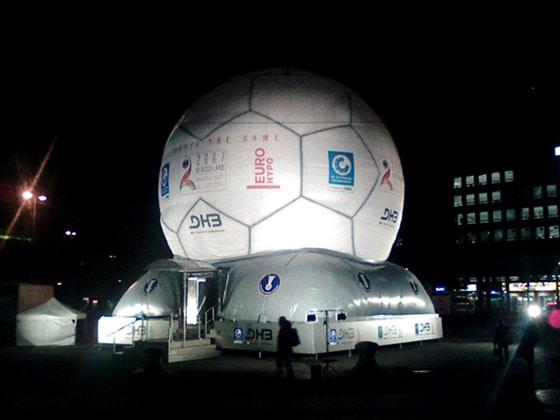 Aufblasbarer riesen Fußball