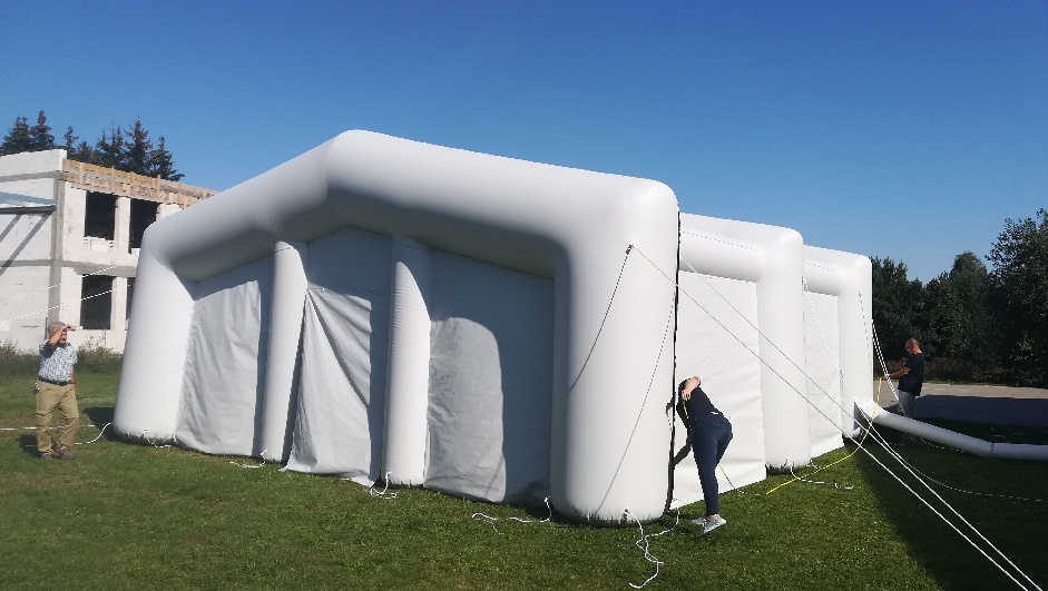 individuelles Aufblasbares Zelt
